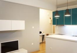 Ανακαίνιση κουζίνας - διαμέρισμα Κολωνάκι