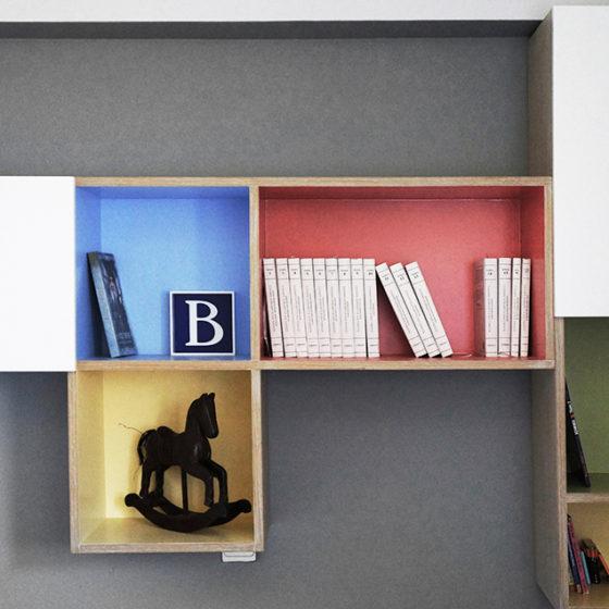 ανακαίνιση δωματίου, βιβλιοθήκης, παιδικό δωμάτιο