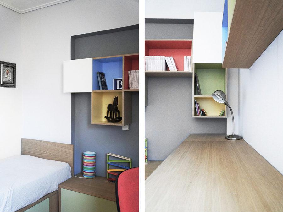 ανακαίνιση δωματίου, παιδικό δωμάτιο