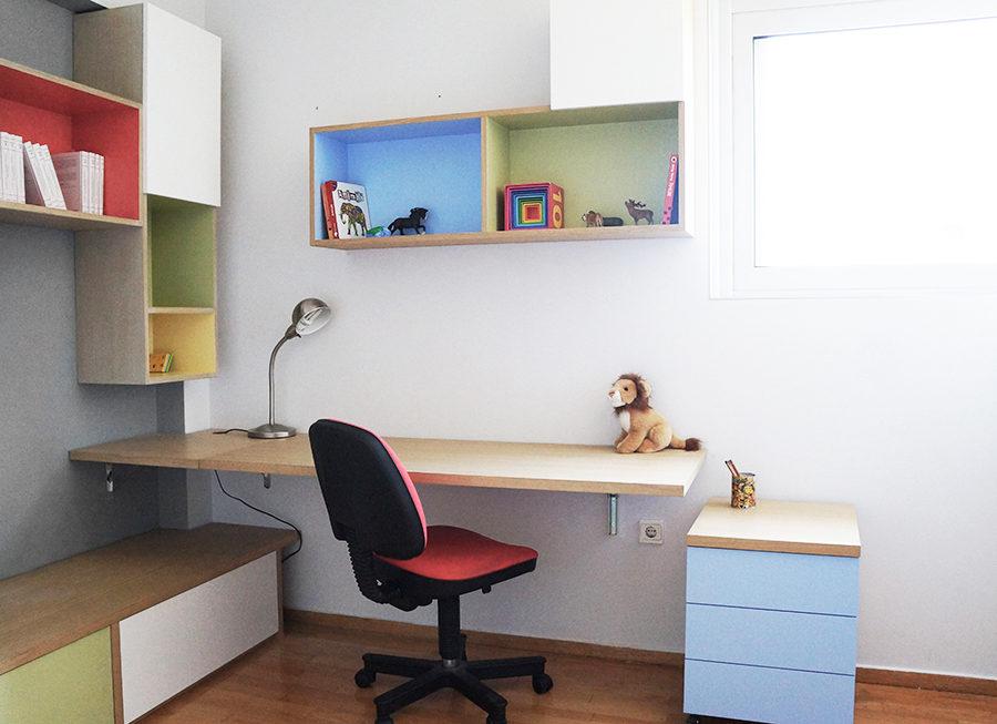 ανακαίνιση δωματίου, γραφείο
