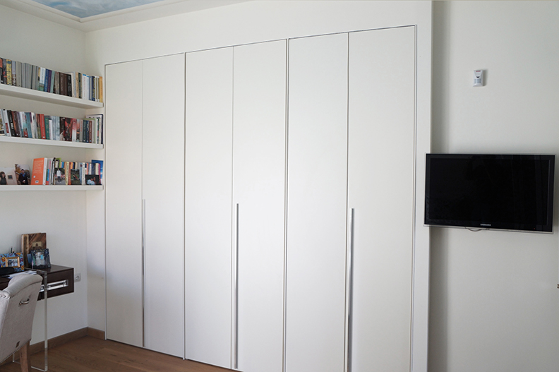 Ανακαίνιση μονοκατοικίας στην Κηφισιά, ντουλάπα χώρισμα 2