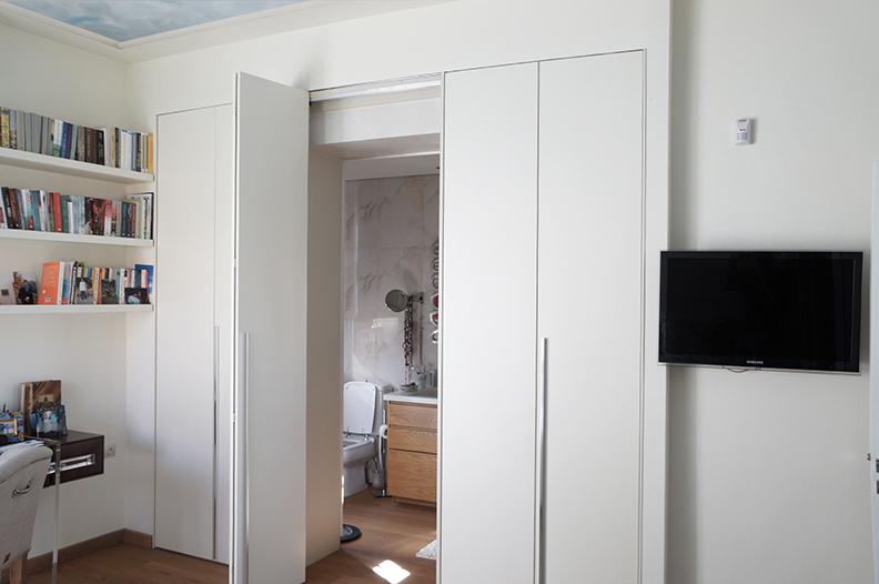 Ανακαίνιση μονοκατοικίας στην Κηφισιά, ντουλάπα χώρισμα 1
