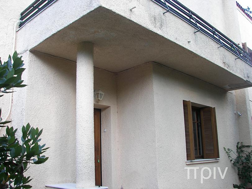 Ανακαίνιση μονοκατοικίας στην Κηφισιά, ανακαίνιση προσόψεων, πριν-μετα