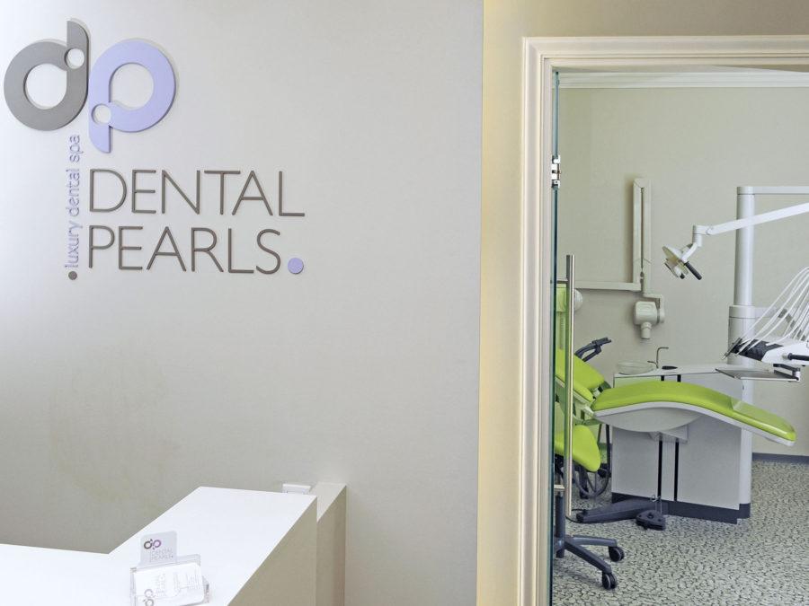 ανακαίνιση οδοντιατρείου, εξεταστήριο οδοντιάτρου - ρεσεψιον
