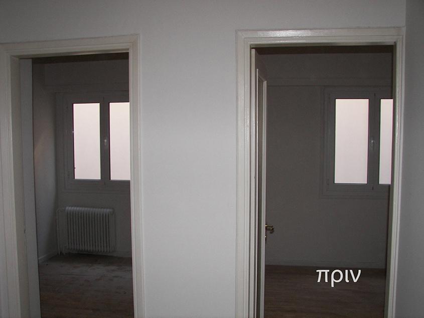 πλήρης ανακαίνιση διαμερίσματος, Ανακαίνιση διαμερίσματος-Κολωνάκι, καθιστικό, πριν