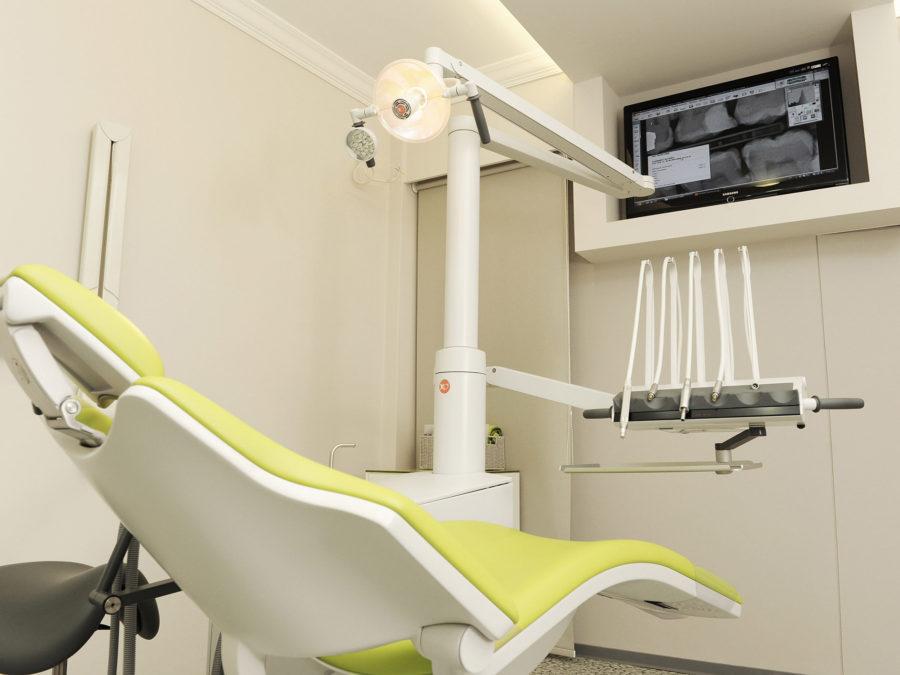 ανακαίνιση οδοντιατρείου, έδρα οδοντιάτρου