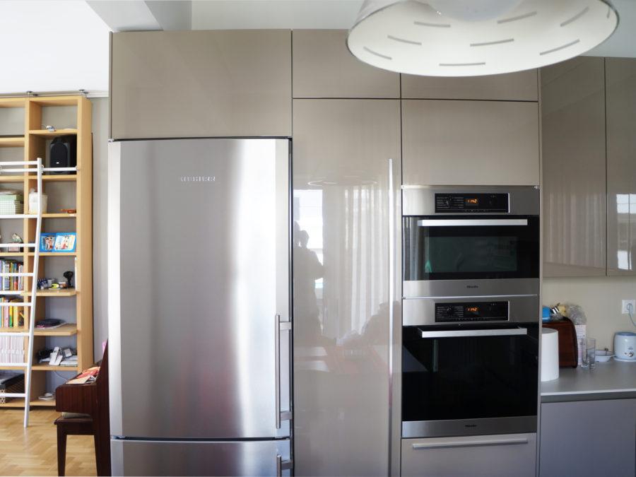 Ανακαίνιση διαμερίσματος στο Χαλάνδρι, ανακαίνιση κουζίνας, ντουλάπια λάκες 3