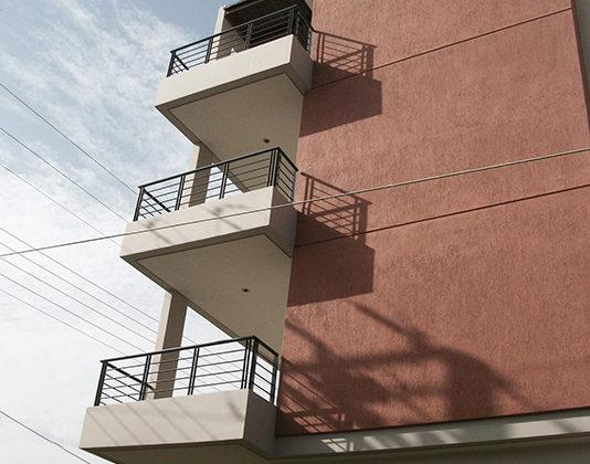 μελέτη, επίβλεψη και κατασκευή πολυκατοικίας, Σπάτα, όψεις, μελέτη κατασκευή 7