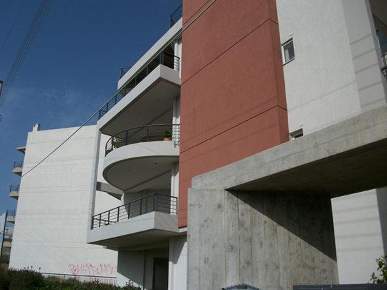 μελέτη, επίβλεψη και κατασκευή πολυκατοικίας, Σπάτα, όψεις, μελέτη κατασκευή 6
